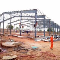 China Low Cost Construction Design Steel Workshop In Algeria wholesale