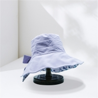 Buy cheap Female Wide Brim Fishing Bucket Hat With Big Bowknot from wholesalers
