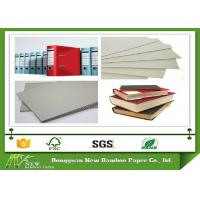 China 800gsm 1.5mm Grey Board Paper Sheet Single layer of Recycled Mixed Pulp wholesale