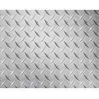 China Embossed High Glossy Aluminium Checker Plate 12000mm Length For Interior Decorating wholesale