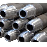 China High Tensile Aw 44.5mm / 1.75 Inch Conventional Drill Rods 3m 1.5m  For Mineral Exploration wholesale