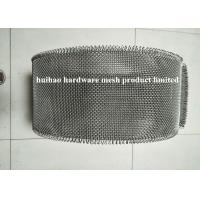 China 316 Stainless Steel Wire Mesh Belt With Loop Edge , 1.6mm Wire Diameter 6 Mesh on sale