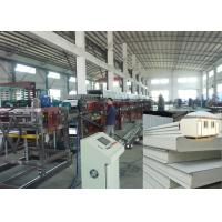 China PU sandwich panel production line sheet metal roofing polyurethane foam wall panel wholesale
