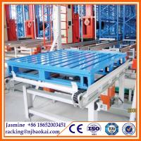 """China 40""""*48"""" 4-way entried C Type Metal Pallet for Pallet Racking System wholesale"""