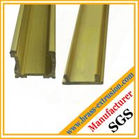 China brass decoration material window and door extrusion profile wholesale