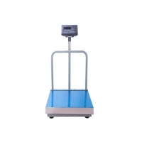 China Electronic Digital Industrial Platform with back rail Bench Scale with back rail wholesale