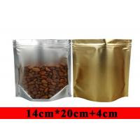 Quality Eco Friendly Stand Up Aluminum Foil Food Packaging Bags Witn Window for sale