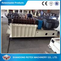 Quality 55 kw Capacity 2 - 3 T / H Crop Waste Crusher Wood Chips Hammer Mill for sale