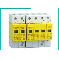 China 10~100kA Din Rail Surge Protector SPD , 220V/380V 3 Phase Surge Protection Devices wholesale