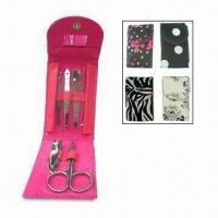 China Manicure Scissors, Made of Stainless Steel wholesale