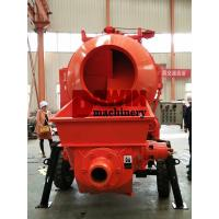 China Effective Self Loading Concrete Mixer with Pump with 450L Drum and 30m3 Pumping System on sale