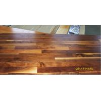China American Walnut Engineered Flooring 3-strip (Rustic White oiled,UV oiled) wholesale