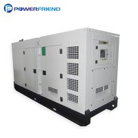 China Liquid Cooling Low Noise 3 Phase Diesel Generator 300kw With Italy Engine wholesale