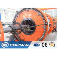 China Reinforced Flat Wire Rigid Armouring Machine Of Submarine Flexible Pipe Production Line wholesale
