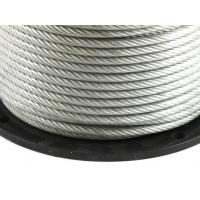 China Stainless 302/304 Nylon Coated Steel Cable 7 19 Strand Core Very Strong wholesale