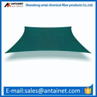 China shade sail carport/shade net carport/plastic carports HDPE materail green dark an so on colors in Antai factory wholesale