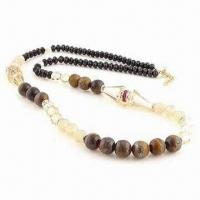China Fashionable Necklace, Made of Glass and Crystal Beads, Small Orders are Welcome wholesale