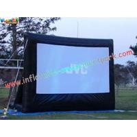China Motorized Projection Commercial Grade 0.55mm Inflatable Movie Theater Screen wholesale