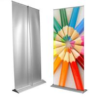 China Custom Large Retractable Display Banners , Advertising Trade Show Roll Up Banners Stand wholesale