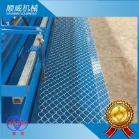 Buy cheap 4m Knuckle Edge Chain Link Fence Equipment Weaving Diameter Φ1.4mm - Φ4.5mm from wholesalers
