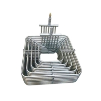 China Heat Transfer Pure Titanium Coaxial Heat Exchanger Condenser Coil wholesale