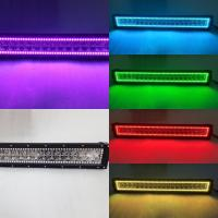 China Hot Sales HkL36W RGB Car Fog Light Bar CE Changeable Color Auto LED Lightbars wholesale
