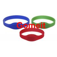 China Entry Rfid Wristband Access Control For Events , Entrance Rfid Chip Bracelet Long Service Life wholesale