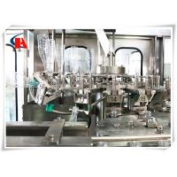 China Compact Carbonated Beverage Bottling Equipment , Liquid Bottle Filling Machine 6000 BPH wholesale