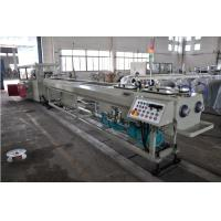 China High Output PVC Double Pipe Plastic Extrusion Equipment / Pipe Extruder Machine wholesale