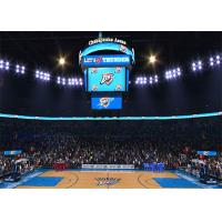 China Basketball Scoreboard Video Cube Screen P3 3mm , Full Color 3D LED Display wholesale
