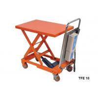 China Portable Electric Pallet Lift Table With Integral Lifting Pump Structure wholesale