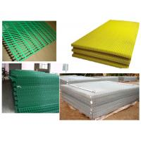 "China PVC Welded Mesh Panel Green,Yellow2""x2"",1""x1"" wholesale"