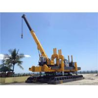 China Rotary Hydraulic Piling Machine Fast Piling Speed 500T Piling Capacity wholesale