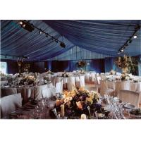 China Large  Wedding Tents With Internal Decoration wholesale