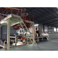 China Bitumen Carpet Tile Production Line Touch Screen With Hot - Air Circulation Oven wholesale