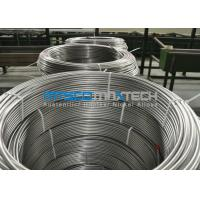 China Chemical Injection Seamless ASTM A269 Stainless Steel Tubing Line / Seamless Coiled Tubing wholesale