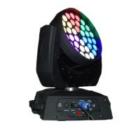 Buy cheap 36 X 15W LED Stage Lighting Moving Head With Ringcontrol RGBWA Silent Fan Stage from wholesalers