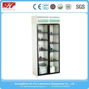 China Aluminum / Wood Pharmacy Medicine Cabinet With Lage Storage Space wholesale