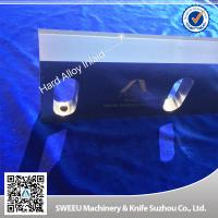 High Precision Plastic Granulator Blades HSS 9CRSI T10 Material ISO Certified for sale