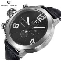 Buy cheap Wholesale PAGANI DESIGN Genuine Leather Band Men Waterproof 30m Quartz from wholesalers