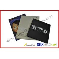 China Rectangle Book Shape Hard Cover Gift Packaging Boxes , Offset Printed CD Holder Gift Packaging Boxes wholesale