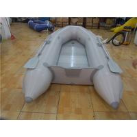 China 4 Person Green Kayak Pvc Inflatable Boat For Fishing Customized Color wholesale