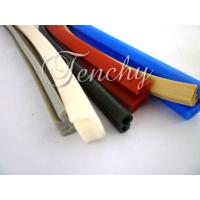 China Waterproof Flexible Silicone Seal Strip Dust Resistant , Shore 60A To 90A wholesale