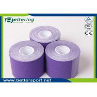 Kinesiology Tape 5cm*5m cotton adhesive elastic tape for sporter purple colour