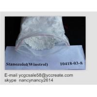 China 99% Stanozolol Powder Oral Anabolic Steroids Muscle Growth Winstrol 50Mg 10418-03-8 wholesale