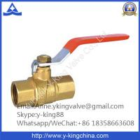 China 1'' Brass Water Valve with Steel Handle wholesale