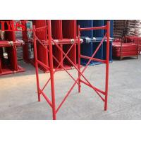 China Safety Durable H Frame Scaffolding Lightweight With Q345 B Steel Materials wholesale