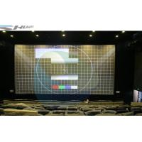 China Intelligent Control 3D Cinema System With Dynamic Theater Film, Digital Screen wholesale