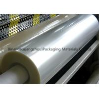 China Transparent PVDC Coated BOPP Plastic Film For Flexible Food Packaging wholesale