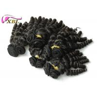 Wholesale Beauty Popular Indian Virgin Hair , Virgin Indian Curly Hair Bundles No Terrible Smell from china suppliers
